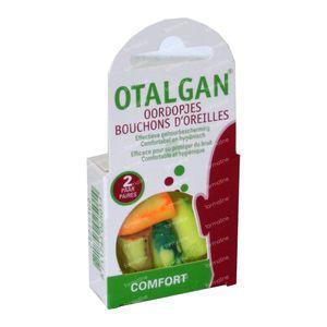 Otalgan Bouchon Auriculaire 2 paire