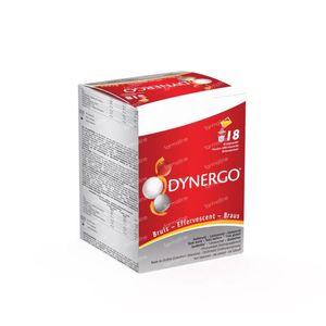 Dynergo Aardbei Bruispoeder 50,40 g zakjes