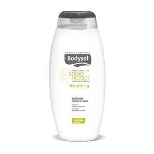 Bodysol Nourishing Badcrème voor Droge en Gevoelige Huid 400 ml