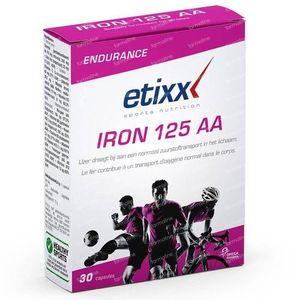 Iron AA chelaat 125 30 capsules