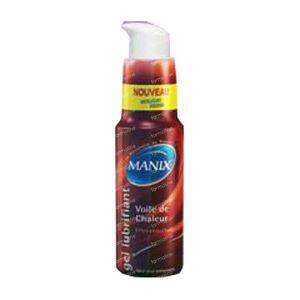 Manix Lubrifiant Chaleur 50 ml gel