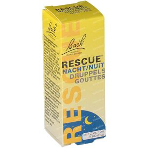 Rescue remedy nacht druppels 10 ml druppels