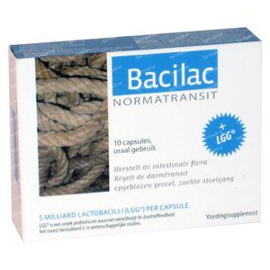 Bacilac Normatransit 10  Capsules
