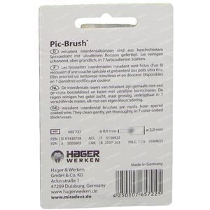 Miradent Pic-Brush Brush White 12 pieces