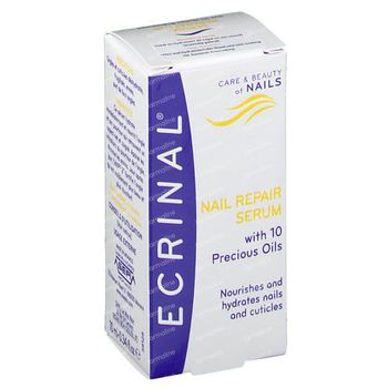 Ecrinal Herstellend Serum Met 10 Kostbare Oliën 10 ml flacon