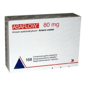 Asaflow 80mg 168 tabletten