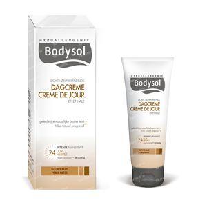 Bodysol Lichte Zelfbruinende Dagcrème voor Getinte Huid 50 ml