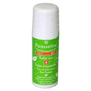Puressentiel Bio Deo 4 Essential Oil 50 ml Rullo