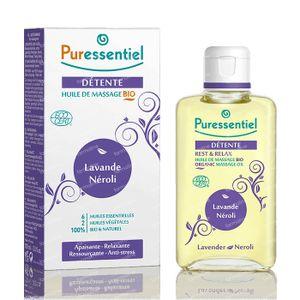 Puressentiel Bio Huile Massage Lavande-Néroli 100 ml
