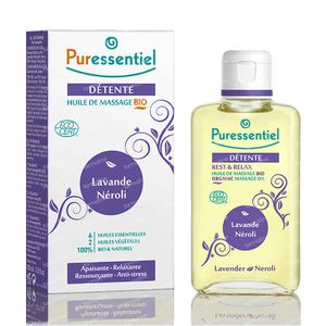 Puressentiel Bio Massage Oil Lavender-Neroli 100 ml