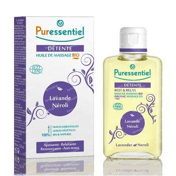 Puressentiel Bio Massage Olie Lavendel-Neroli 100 ml