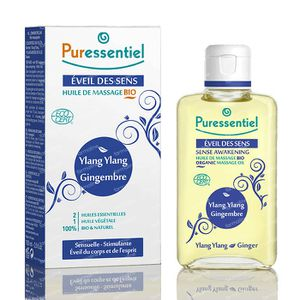 Puressentiel Bio Massage Oil Ylang Ylang-Gember 100 ml