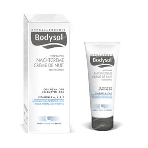 Bodysol Herstellende Nachtcrème Voor Normale Huid 50 ml