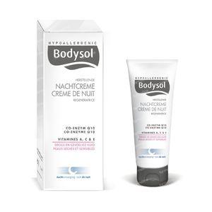 Bodysol Herstellende Nachtcrème Voor Gevoelige En Droge Huid 50 ml