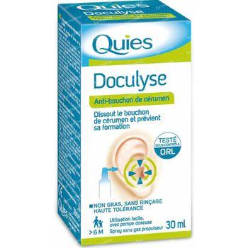Quies Doculyse Solution Oreilles 30 ml spray