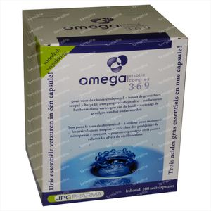Omega 3-6-9 Fish Oilcomplex Softcaps 160 St Capsule