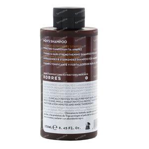 Korres Men's Shampoo Magnesium & Wheat Proteins 250 ml
