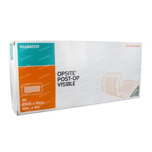 Opsite Post OP Visible 10cm x 25cm 20 St