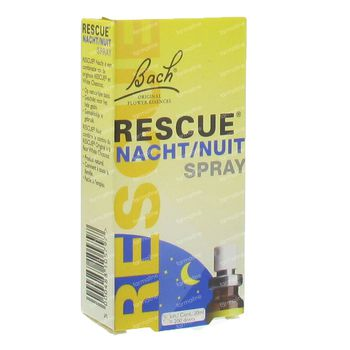 Bach Bloesem Rescue Spray Nuit 20 ml