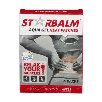 STARBALM Heat Patches 10x14 cm 4 pièces