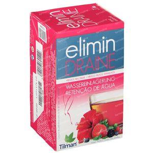 Elimin Draine Kruidenthee Rode Vruchten 20 g zakjes