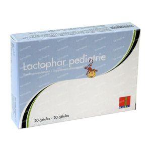 Lactophar Pediatrie 20 capsules