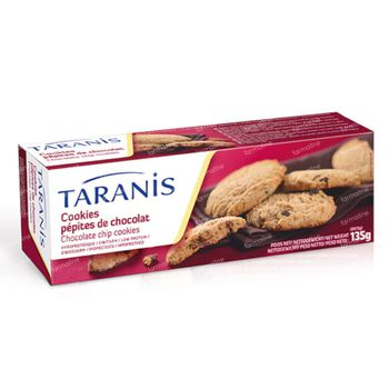 Taranis Cookies Pepites Chocolat 3x3 135 g