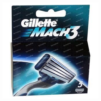 Gillette Mach 3 Turbo 5 Lames 5 pièces