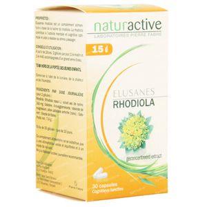 Elusanes Rhodiola 30 capsules