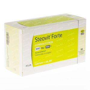 Steovit Forte Citron 1000mg/800 84 comprimés à croquer