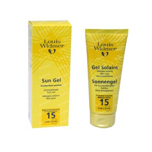 Louis Widmer Sun Gel 15 (Licht geparfumeerd) 100 ml tube