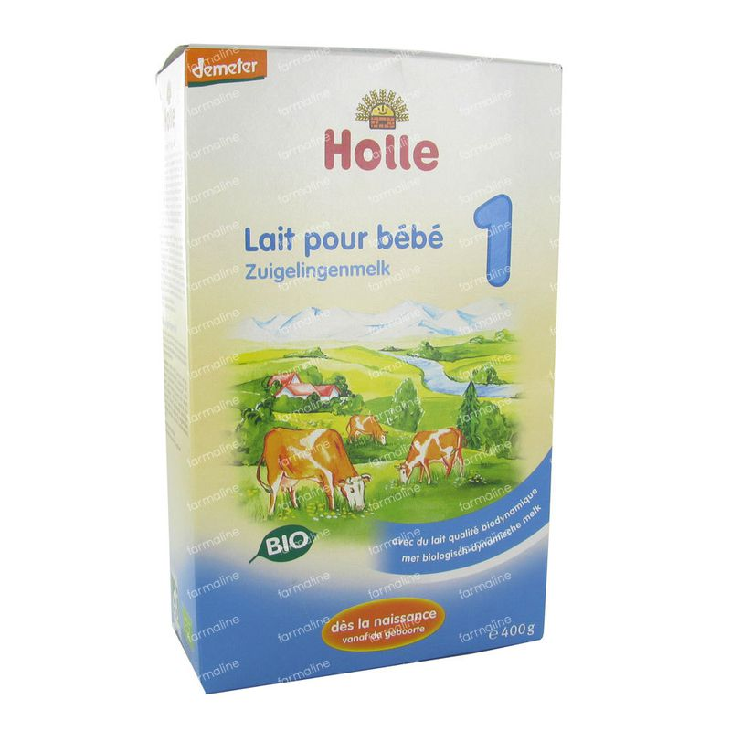 holle lait infantile 1 bio poudre 400 g commander ici en ligne. Black Bedroom Furniture Sets. Home Design Ideas
