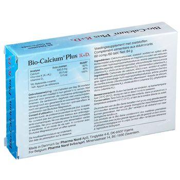 Pharma Nord Bio-Calcium Plus K+D3 60 tabletten