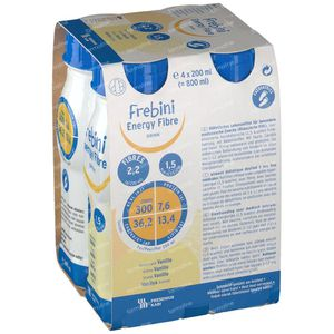 Frebini Energy Fibre Drink Kind Vanille 4x200 ml