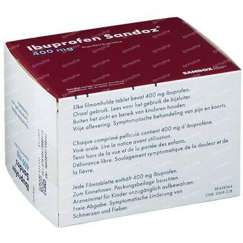 Ibuprofen Sandoz 400mg 100 comprimés
