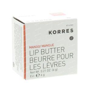 Korres Lip Butter Mango 6 g