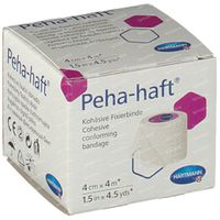 Hartmann Peha-Haft Latexfree 4cm x 4m 932441 1 st