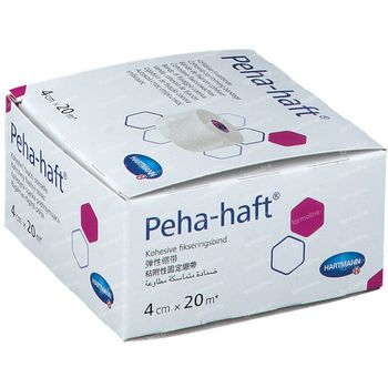 Hartmann Peha-Haft Latexfree 4cm x 20m 932446 1 pièce