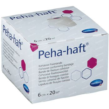 Hartmann Peha-Haft Latexfree 6cm x 20m 932447 1 st