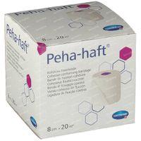 Hartmann Peha-Haft Latexfree 8cm x 20m 932448 1 st