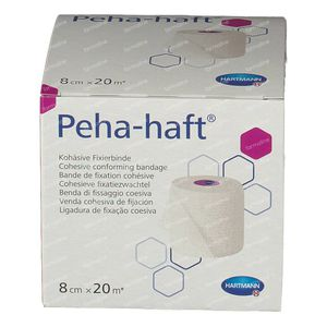 Hartmann Peha-Haft Latexfree 8cm x 20m 932448 1 stuk