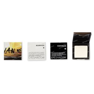 Korres Sunflower & Evening Primrose Eyeshadow 10S White 1,80 g