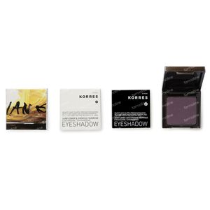 Korres Sunflower & Evening Primrose Eyeshadow 77S Plum 1,80 g