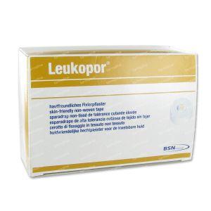 Leukopor A/Allergische Hechtpleister 2453 1.25cm x 9.2m 24 stuks