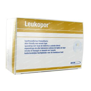 Leukopor A/Allergic Adhesive Plaster 2,5cm x 9,2m 12 pieces