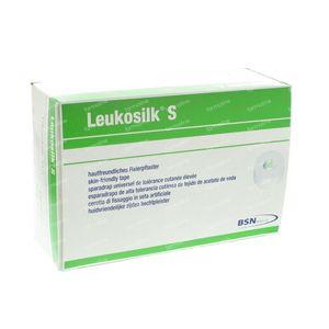 Leukosilk S Roller Sticking Plaster 1,25cmx9,2m 24 pieces