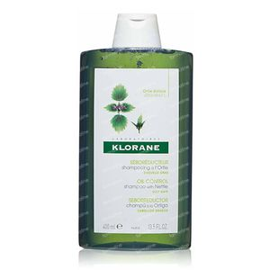 Klorane Oil Control Shampoo with Nettle 400 ml