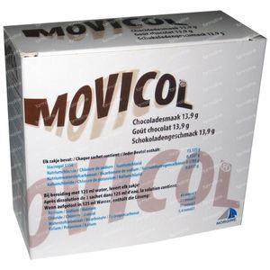 Movicol Chocolade Smaak 20x13,9 g zakjes