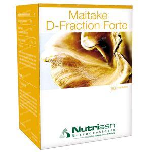 Nutrisan Maitake D-Fraction Forte 60 St Capsules