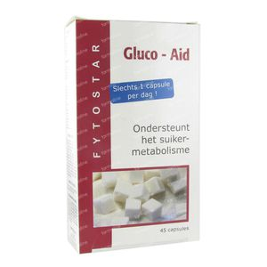 Fytostar Gluco Aid 45 stuks Cápsulas